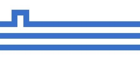 포드 고리 카의 국기는 몬테네그로의 수도이자 가장 큰 도시입니다. 도시는 또한 Titograd라고 불 렸습니다. 포드 고리 차 플래그 벡터입니다. 스톡 콘텐츠 - 70919710