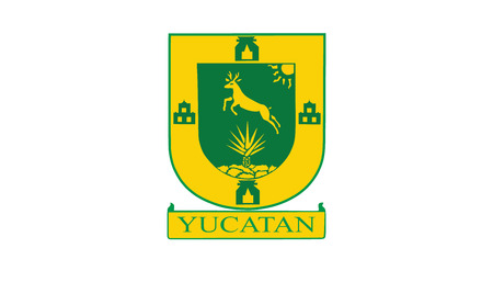 yucatan: Vector flag of the Yucatan State, Mexico. Illustration