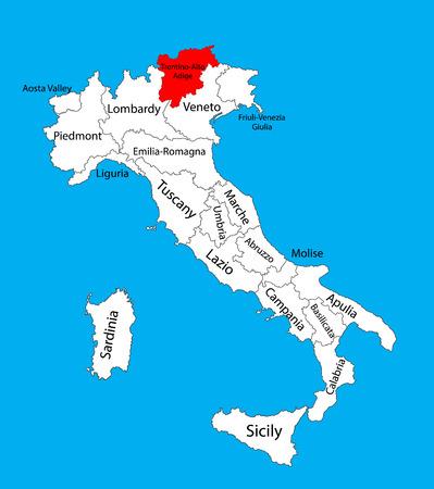 Tirol Italy Map.438 Tyrol Stock Illustrations Cliparts And Royalty Free Tyrol Vectors