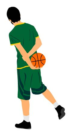 Basketball player out of game. Time out, consultation with trainer about tactic strategy 写真素材 - 129194069