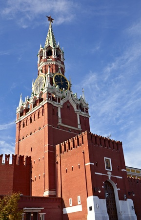 Spasskaya tower of Moscow Kremlin, Russia Stock Photo - 9003356