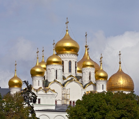 annunciation: Cathedral of the Annunciation. Moscow, Russia