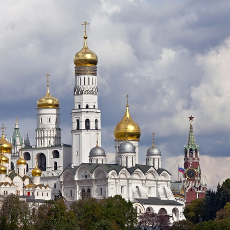ivan: Cathedral of Archangel and Ivan the Great Bell Tower, Moscow, Russia