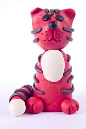 plasticine: Plasticine tiger