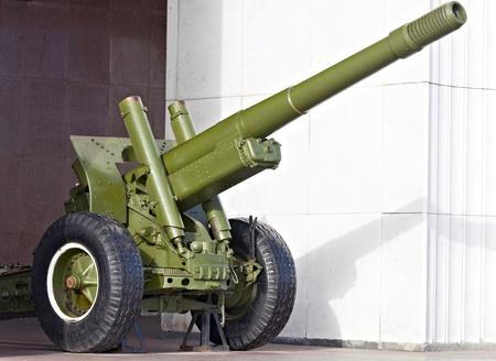 Russian cannon of World War II Stock Photo - 9214361