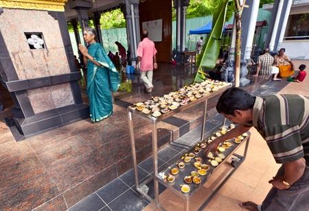 Batu caves, Kuala Lumpur, Malaysia, 2012 - hindu rituals