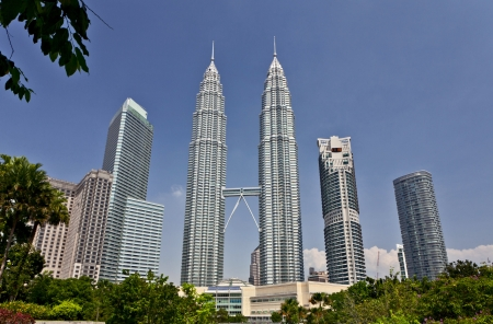 Petronas Twin Towers at Kuala Lumpur, Malaysia
