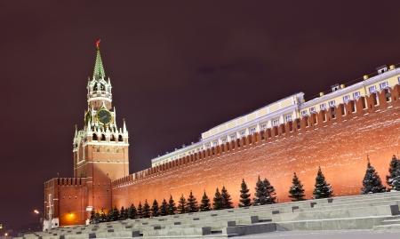spasskaya: Spasskaya tower of Moscow Kremlin