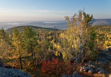 urals: Autumn landscape at South Urals, Russia