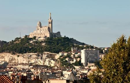 marseille: Cityscape van Marseille, Frankrijk