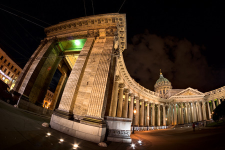 kazanskiy: Kazan Cathedral in Saint-Petersburg, Russiawas built in 1811