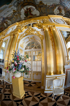 catherine: Interior of Catherine Palace in Pushkin, Russia
