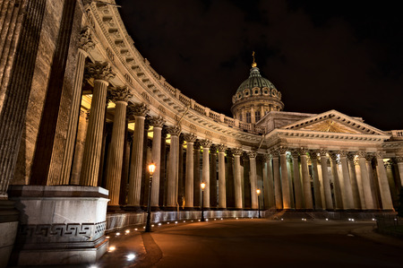 kazanskiy: Kazan Cathedral in Saint-Petersburg. Was built in 1811