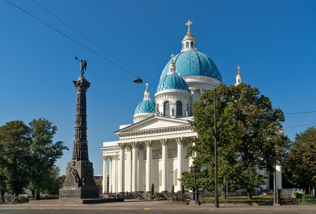 trinity: Trinity Cathedral in Saint Petersburg, Russia