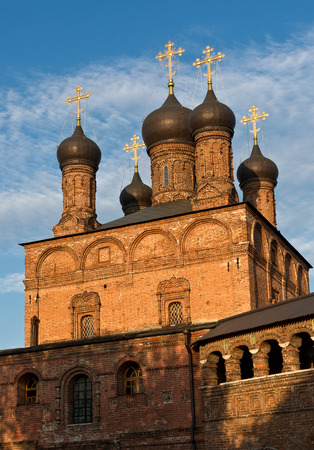 Dormition Cathedral in Moscow, was buit in 1898