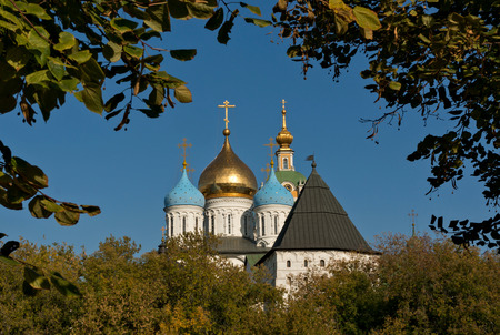 Novospassky Monastery in Moscow, Russia. Was buit in 1494