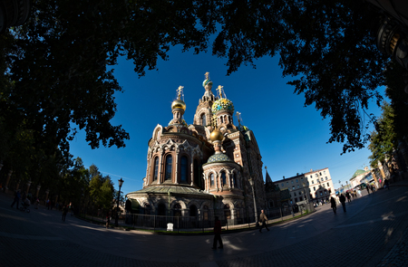savior: Church of the Savior on Blood in St Petersburg, Russia