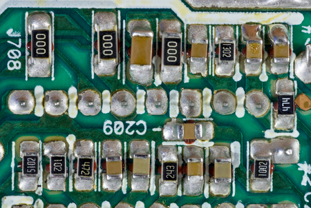 surface mount components on printed circuit board stock photo rh 123rf com Surface Mount D-Rings Surface Mount D-Rings