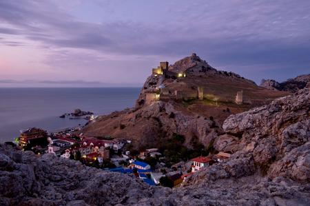 Ancient Sudak fortress, Crimea