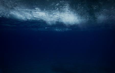 underwater ocean. storm. Mystic. Zdjęcie Seryjne