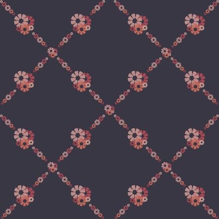 purple silk: flores fondos de pantalla Vectores