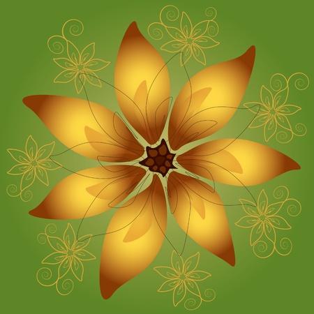 big flower Stock Vector - 12484078