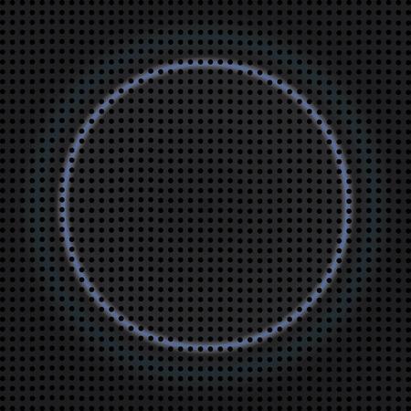 speaker grill: fine speaker grill texture with neon light