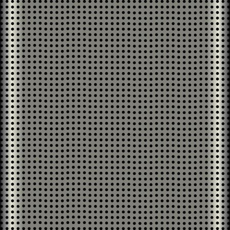 fine aluminum modern speaker grill texture  Vector