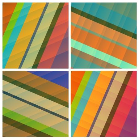 royalty free: fine set of royalty free abstract backgrounds  Illustration