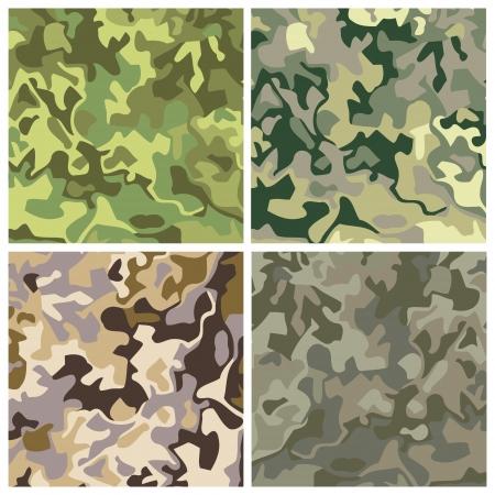 royalty free: regalit� nuova serie di sfondi gratis mimetiche militari Vettoriali