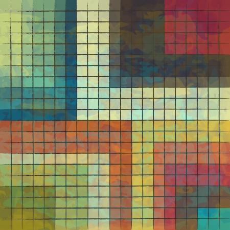 lizenzfrei: neue Lizenzfreie abstraktes Bild von farbigen Quadraten kann wie Hintergrundbild verwenden Illustration