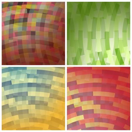 lizenzfrei: neue Lizenzfreie Set mit abstrakten Hintergr�nden kann wie Hintergrundbild verwenden Illustration