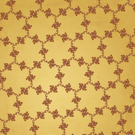 new abstract backdrop with honeycomb style decoration elements can use like vintage background Vector