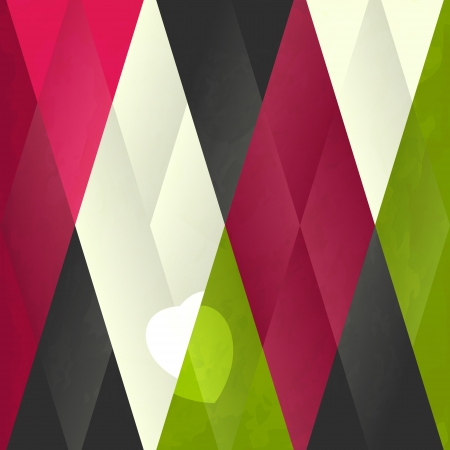 new abstract background with conceptual heart can use like holiday modern wallpaper Vector