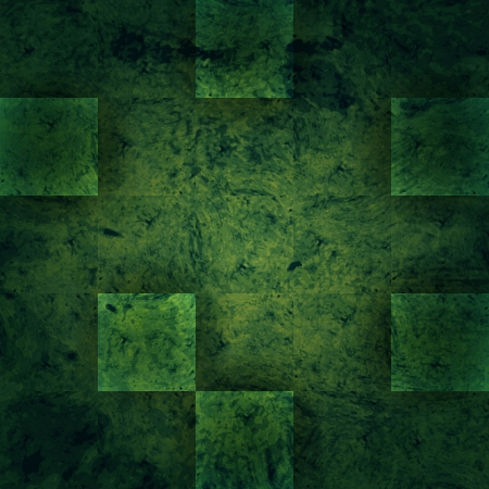 fortified: new abstract background with green marble slabs can use like modern wallpaper Illustration