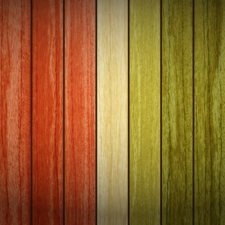 new natural style background with vertical wooden planks can use like vintage wallpaper Vector
