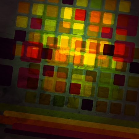 new abstract background with colorful glass squares can use like modern wallpaper Vector