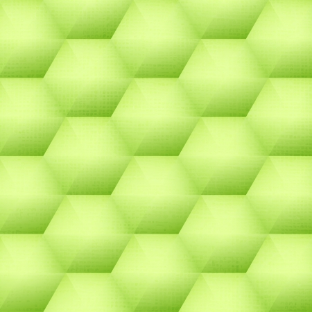 aperture grid: new green background with honeycomb shapes can use like technology wallpaper Illustration