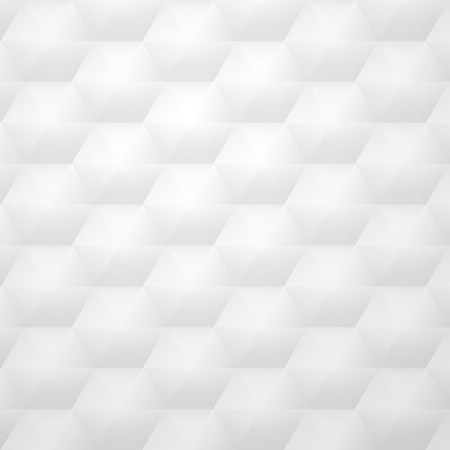 new white background with honeycomb shapes can use like technology wallpaper Vector