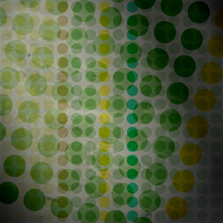 new abstract wallpaper with colored circles can use like fashion design Vector