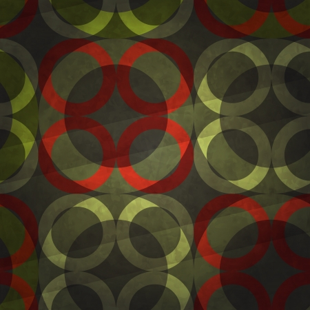 new decorative background with circles ornament can use like retro wallpaper Vector