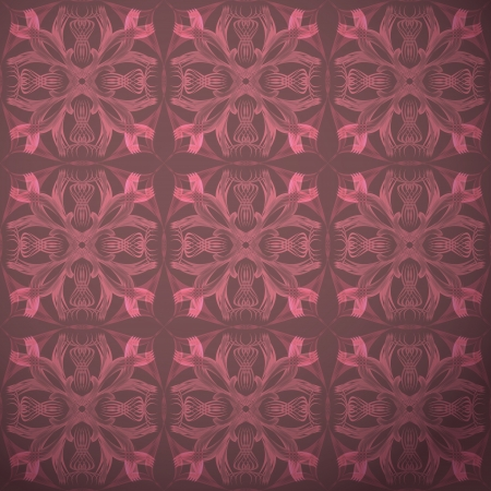new seamless pattern with old style decorative elements can use like retro design Vector