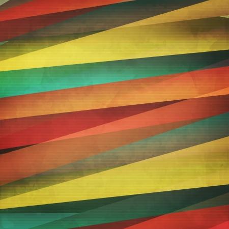 다채로운 종이 줄무늬가있는 새로운 유행의 배경은 현대적인 디자인과 같이 사용할 수 있습니다 일러스트