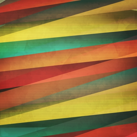 new trendy background with colorful paper stripes can use like modern design Stock Vector - 20673856