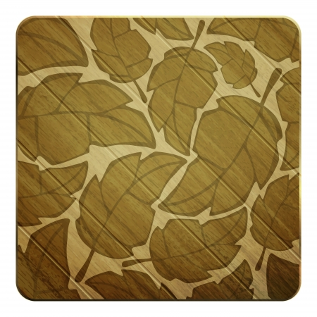new natural background with leafs can use like seasonal textured pattern Vector