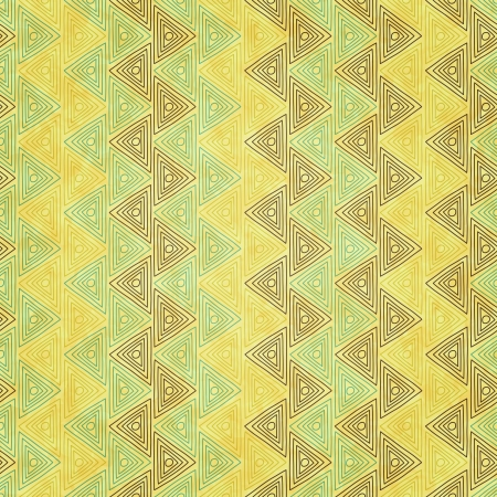new vintage background with traditional pyramid symbol can use like seamless pattern Vector