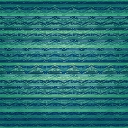 new seamless pattern with old decorative ornament can use like blue background Illustration