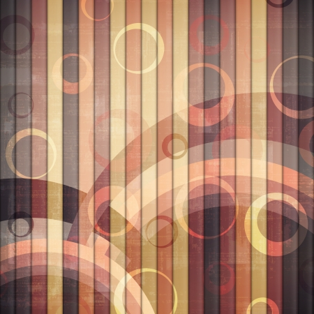 new abstract wallpaper with colored stripes and circles can use like vintage background Vector