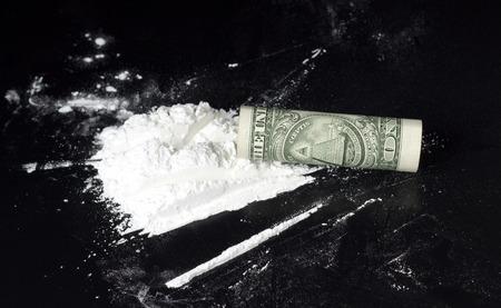 druggie: laminati dollaro sulla cocaina heap