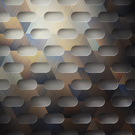 abstract metallic background with colored surface Vector